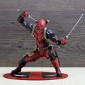 Deadpool Figure Wade Wilson ARTFX+ X MEN X-MEN Weapon X CIVIL WAR Iron Man Wolverine PVC Action Figure Model Collection Toy Gift