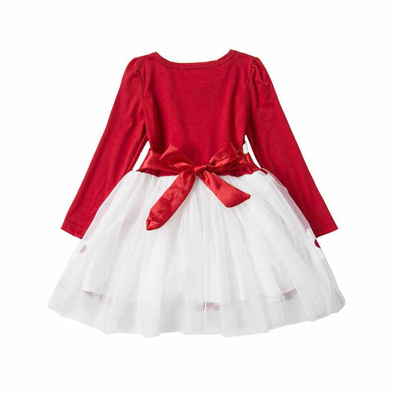 9b62edfd1 ... 1st Navidad vestido para bebé niña niño las niñas de Navidad de Santa  de regalo de ...
