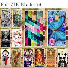 Anunob For ZTE Blade X9 Case Silicone 5.5