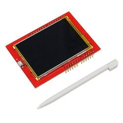 2.4 cal ekran dotykowy TFT 320*240 ekran LCD moduł wyświetlacza dla UNO R3 deska do MEGA 2560 + ekran dotykowy długopis