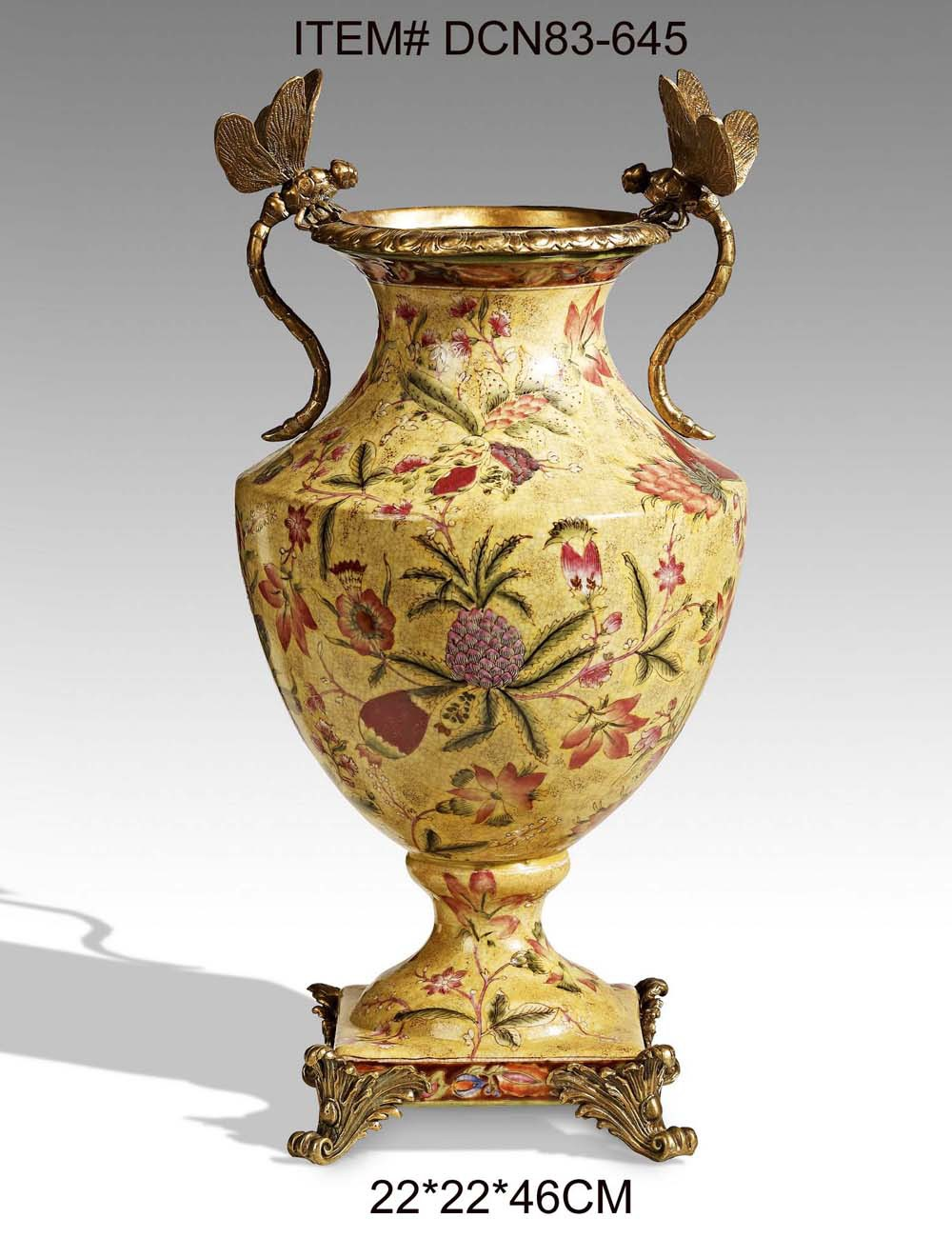 European style luxury porcelain dragonfly decorative vase antique dcn83 645g reviewsmspy