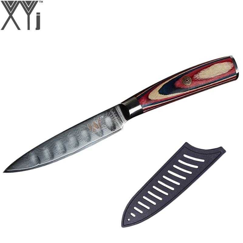 Aliexpress.com : Buy XYj VG10 Damascus Knife 4 Inch