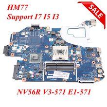 NOKOTION Q5WV1 LA 7912P scheda madre del computer portatile per Acer V3 571 per Gateway NV56R E1 571 HM77 HD4000 NBC0A11001 Supporto i5 i3 i7 cpu