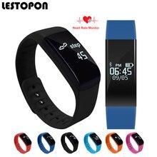 Lestopon Bluetooth Смарт Браслеты Мода SmartBand Водонепроницаемый Браслет С Пульсометром Шагомер трекер сна