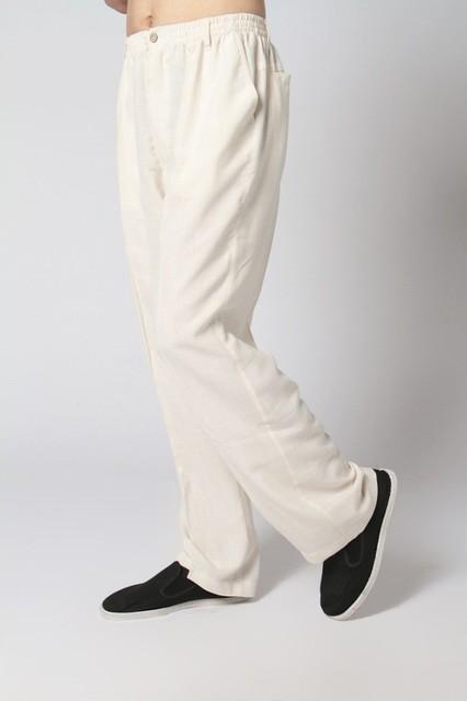 Calças homem verão tradição chinesa homens Kung Fu calças sml XL XXL XXXL YF1161