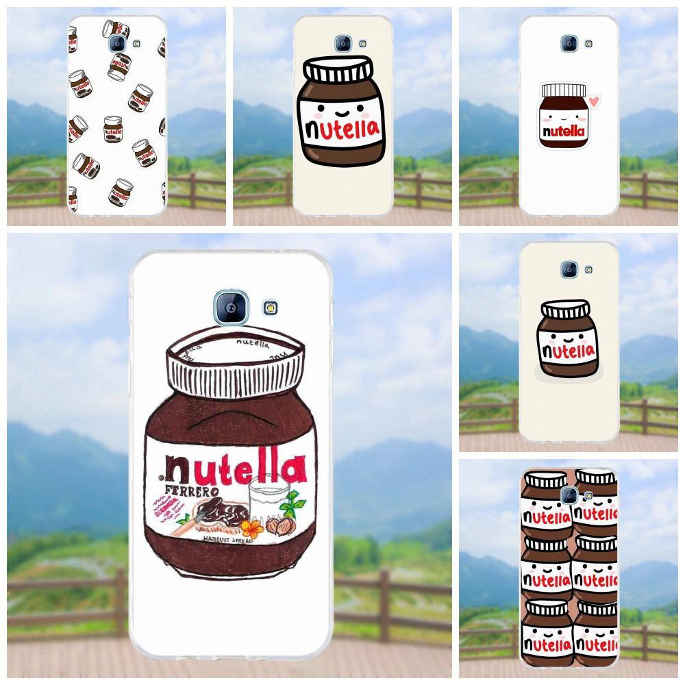 Vvcqod Tumblr Nutella Sweet Cute Funny Joke Soft TPU Covers For Samsung Galaxy A3 A5 A7 J1 J2 J3 J5 J7 2015 2016 2017 image
