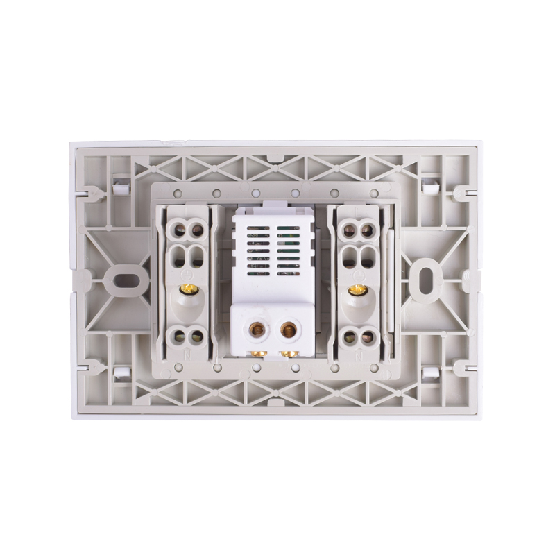 lowest price Coswall IP66 Weatherproof Waterproof Outdoor Wall Power Socket 16A Double EU Standard Outlet With Dual USB Charging Port 2 1A