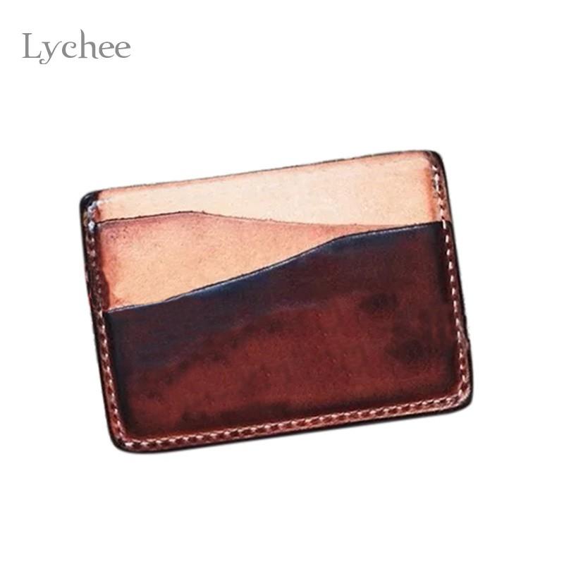 Us 2 62 25 Off Lychee 1 Stück Diy Acryl Leder Visitenkartenhalter Vorlage Handgemachte Fertigkeit Lederhandwerk Nähen Werkzeug Zubehör In
