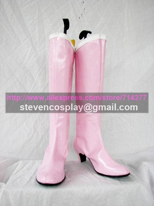 Custom-made Cheap Sailor Moon Chibiusa Cosplay Boots Cosplay Shoes Christmas