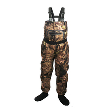 купить Fly Fishing Waders Durable Comfortable Breathable Stocking foot Chest Wader for Men and Women дешево