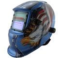 Out control LI battery solar auto darkening electric welding mask/helmet/welder cap for welding machine and plasma cutter
