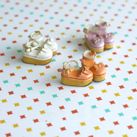 Free shipping High quality Handmade color Doll shoes,doll accessories for blythe Azone 1/BJD Lati Puki girl play house gift toys