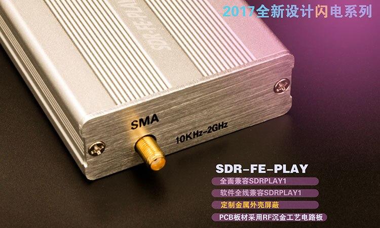 À large bande Très Complet 12bit DTS Récepteur SDRPLAY RSP1 RSP2 RTL-SDR HackRF Mise À Niveau SUIS FM HF SSB CW récepteur Full band HAM Radio