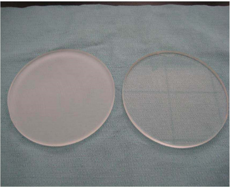 CaF2 window / CaF2 substrate-10.0*2.0mm /Optical window / Infrared window substrate /UV window substrate