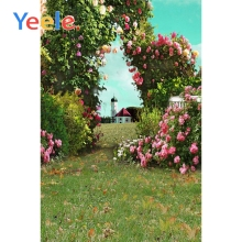 Yeele Spring Scenery Blossom Flowers Wedding Wall Baby kid Photography Backgrounds Photographic Backdrops Props For Photo Studio
