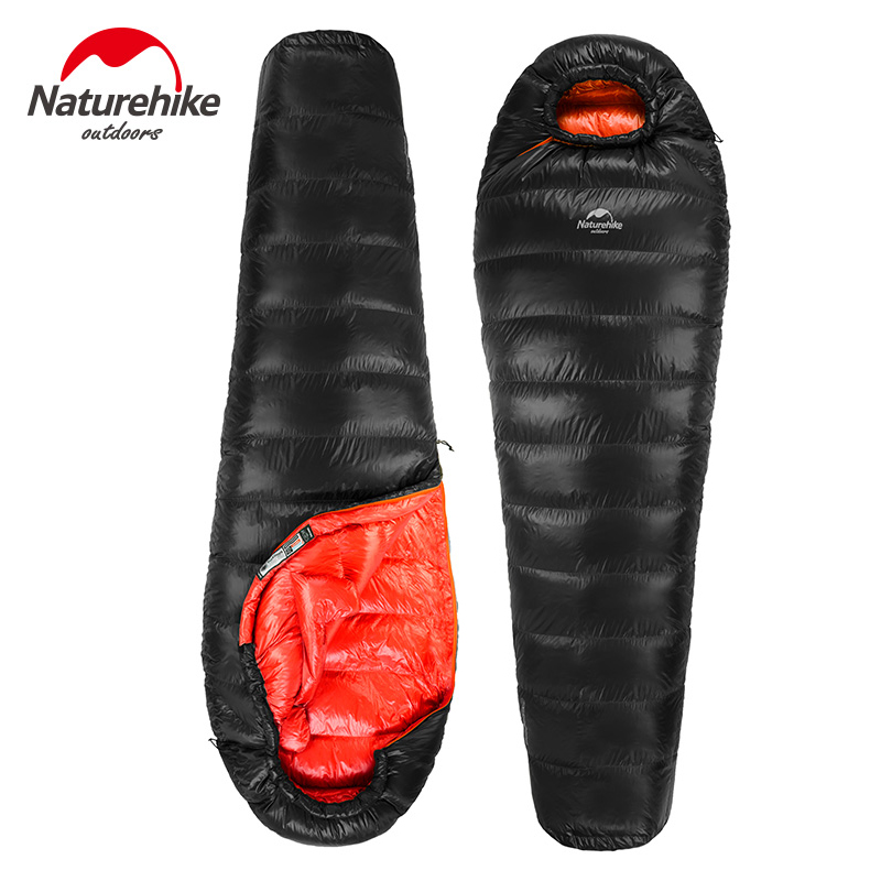 NatureHike 0.94kg/1.53kg Ultralight Camping Sleeping Mummy Bag White Duck Down Sleeping Bag Comfortably Goose Down Sleeping Bag sabrina scala платье sabrina scala sabsss013 красный