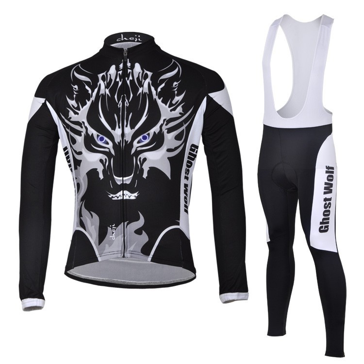 2016 Ghost Wolf Pro Bicycle Bike MTB Cycling Long sleeve Jersey/Jacket Clothes/Clothing Pants maillot/Ropa Ciclismo SportsWear