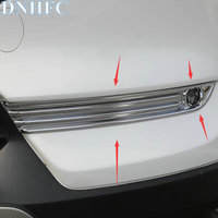 DNHFC ABS Chrome Front Fog Lamps Cover Trim Fog Lamp Shade Car Exterior Styling Accessories For