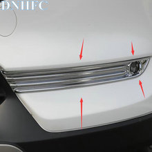 DNHFC ABS Chrome Front Fog Lamps Cover Trim Fog Lamp Shade Car Exterior Styling Accessories for Mazda CX-5 CX5 2017 2018