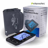 Auto Digital Upper Arm Blood Pressure Monitor Large Cuff Heart Beat Meter Machine Home BP Health Care Antarestec PH20