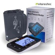 Automático digital braço superior monitor de pressão arterial grande manguito coração bater medidor máquina casa bp cuidados saúde antarestec ph20