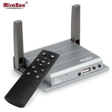 Wireless VGA HDMI MiraBox Presenter For Airplay/Miracast/Windows Widi Conference/Education/Home theater Wifi Mirroring Presenter