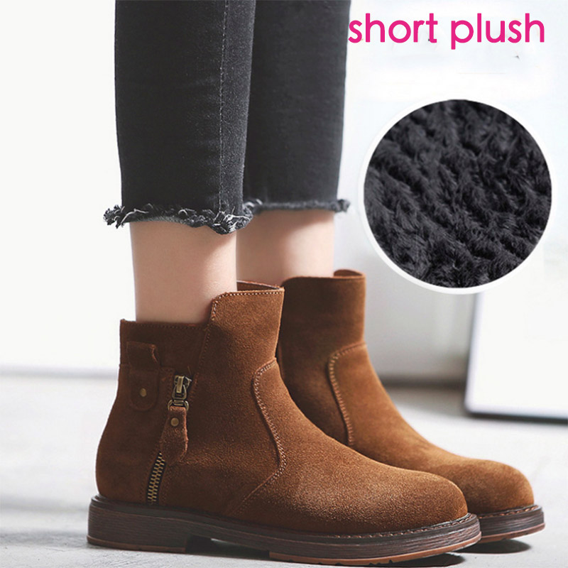 Hot Martin Boots Genuine Leather Ankle Shoes Vintage Casual Shoes Brand Design Retro Handmade Women Boots Lady women led light shoes casual shoes led luminous boots unisex genuine leather ankle boots women usb charging martin boots 35 46
