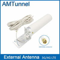 4G Antenna SMA Connector LTE Antenna External Antennna With 10m Cable For 3G 4G Signal Boosterrepeater