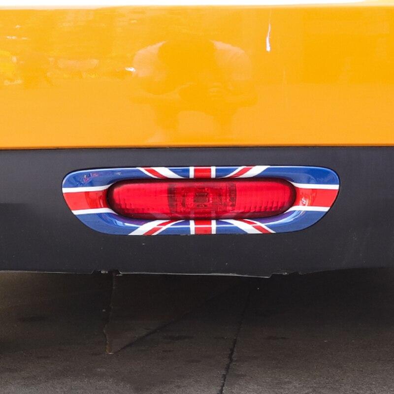 Union Jack voiture feu arrière coque décorative ABS couverture autocollant Refit logement pour Mini Cooper S One d JCW F55 F56 accessoires de voiture