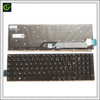 French Azerty Backlit keyboard for Dell G3 15 3579 3779 G5 15 5587 G7 15 7588 Gaming FR laptop