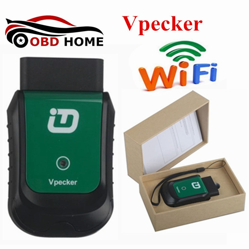 100% Original VPECKER Easydiag Wireless OBDII Full Diagnostic Tool V6.4 Support WiFi Work on Windows Fast Shipping