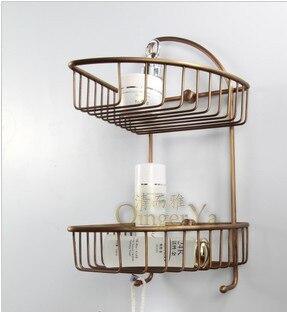 Clean and elegant bathroom offers a full bathroom pod European antique copper bathroom accessories 907R