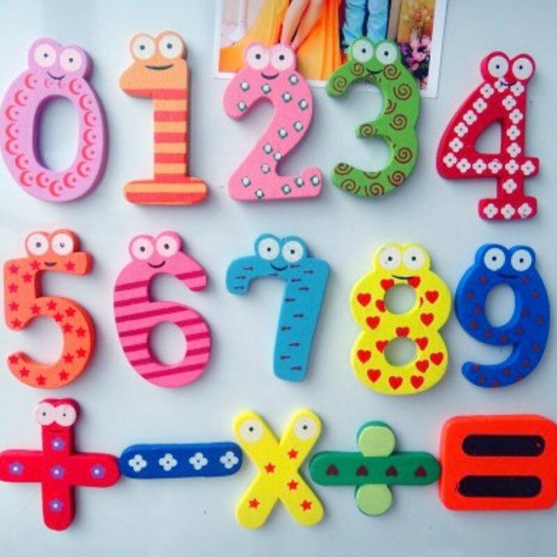 Распродажа 10 Количество магнит; пять символов Образование ЖЖ Милый 15 шт./компл. деревянные детские игрушки наклейки холодильник малыш