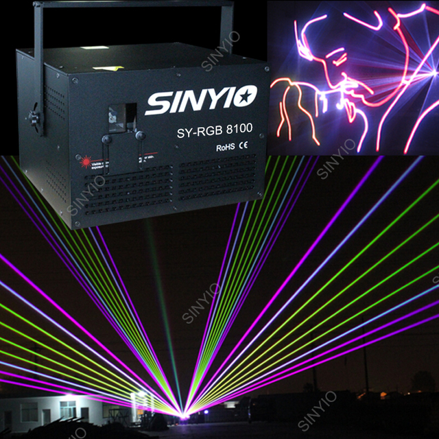 10w rgb expensive but high quality disco laser light show laser