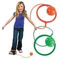 2016 Novas Crianças de Enrolamento Interdição Bola Brinquedos de Fitness Bola De Plástico Único Ao Ar Livre Esporte Jogo Divertido Venda Quente Verde Vermelho