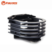 Aluminum Car Styling Automobile Drink Holder Air Vent Clip On Mount Cup Bracket Stand For Water