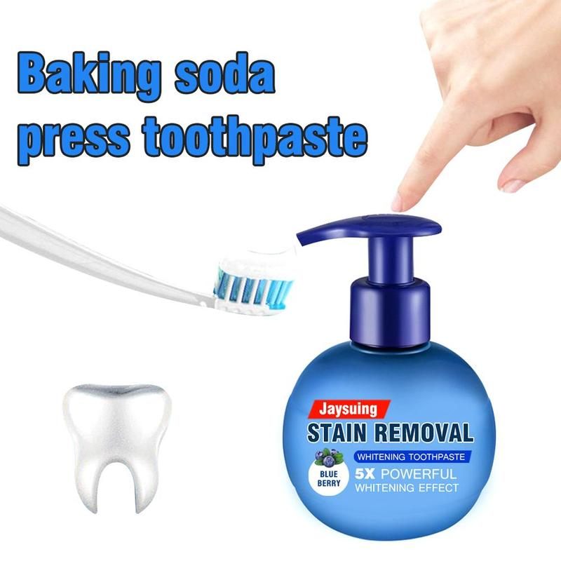 Natural Intensive Stain Removal Whitening Toothpaste Bleeding Gums Toothpaste Tooth Cleaning Oral Care Press Type Drop Shipping