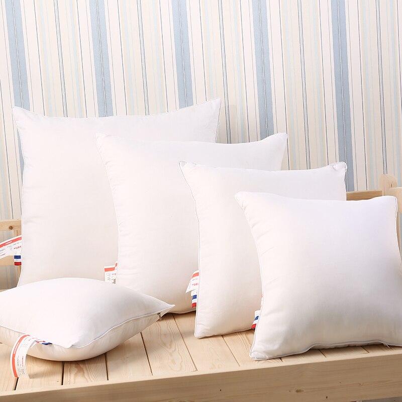 2 Pcs 40X40 cm 50X50 cm 60X60 cm formato Su Misura Cuscini Cuscini di colore Bianco letto Cuscino per dormire almohada oreiller2 Pcs 40X40 cm 50X50 cm 60X60 cm formato Su Misura Cuscini Cuscini di colore Bianco letto Cuscino per dormire almohada oreiller