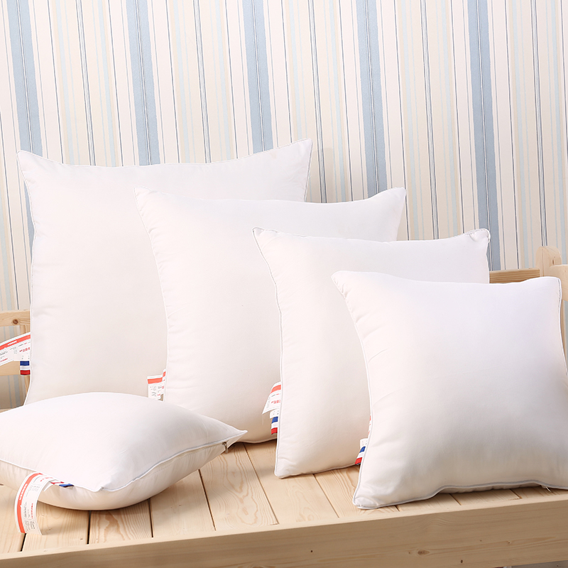 2Pcs 40X40cm 50X50cm 60X60cm Customized size Pillows Cushions White color Bed Pillow for sleeping almohada oreiller