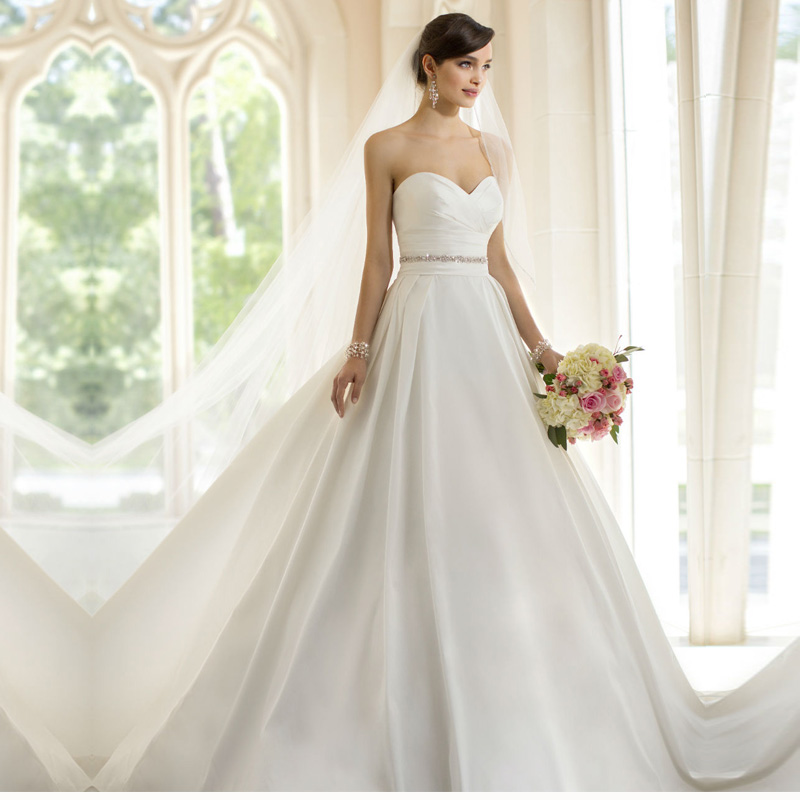 2015 Designer Wedding Gowns: Vestidos De Novia Wedding Dress 2015 Latest Design