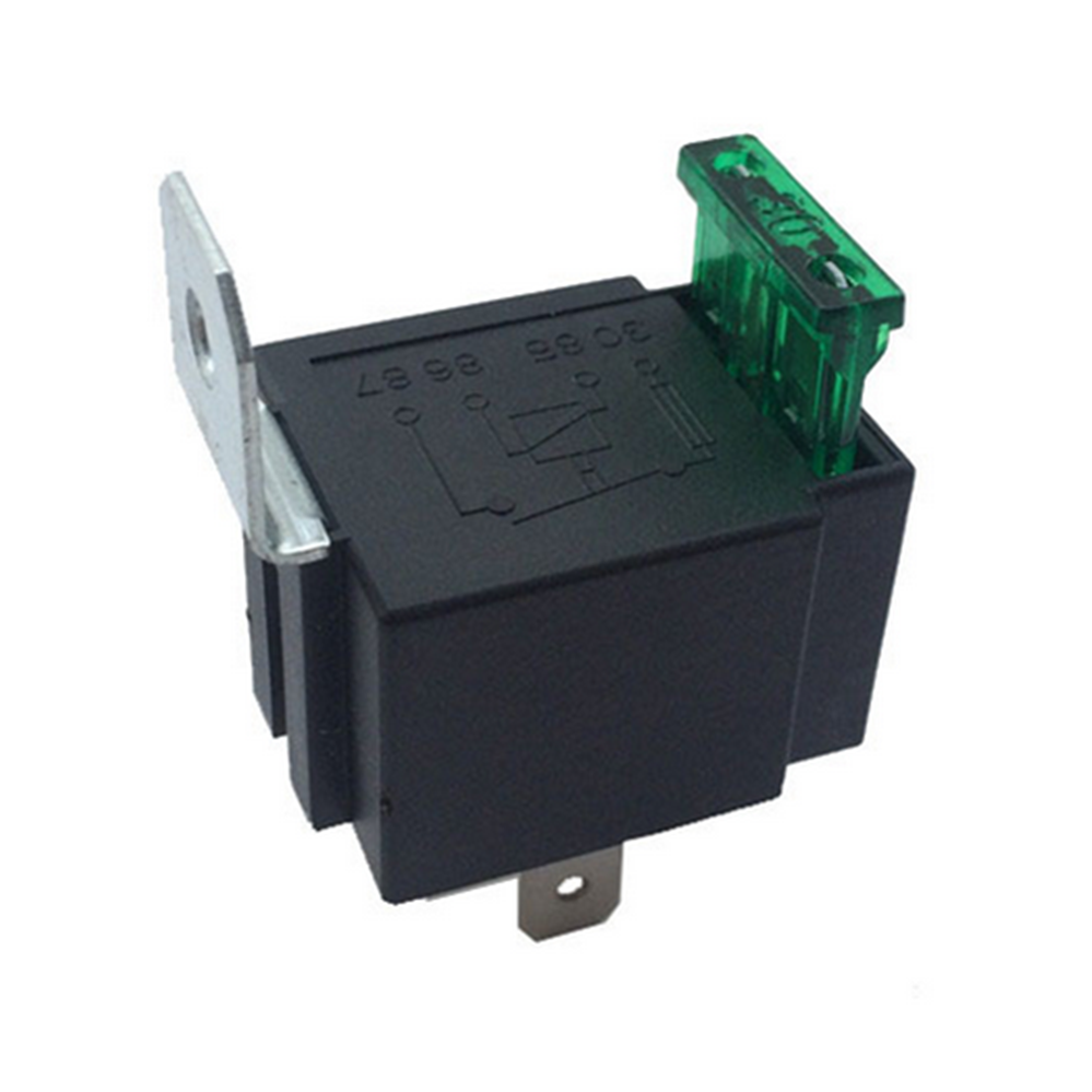 US $2 39 40% OFF|New DC 12V 30A Car Relay 4 Pin Normally Open Contacts  Fused Relay On/Off With Bracket for Automotive Electrical-in Relays from  Home
