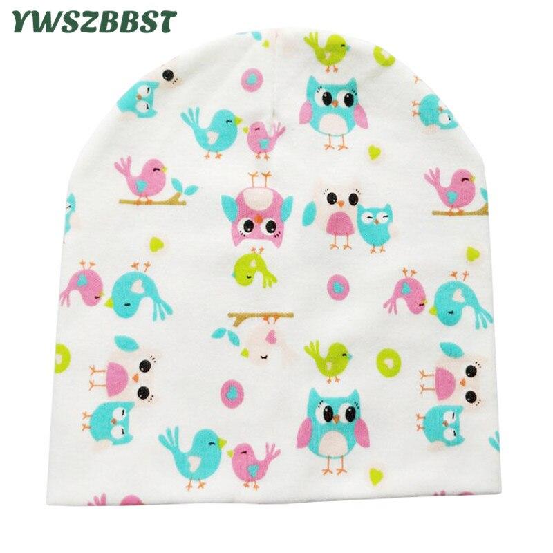 YWSZBBST New Spring Autumn Winter Children Hats Cotton Baby Hat Boys Girls Kids   Beanies   Cap Accessories