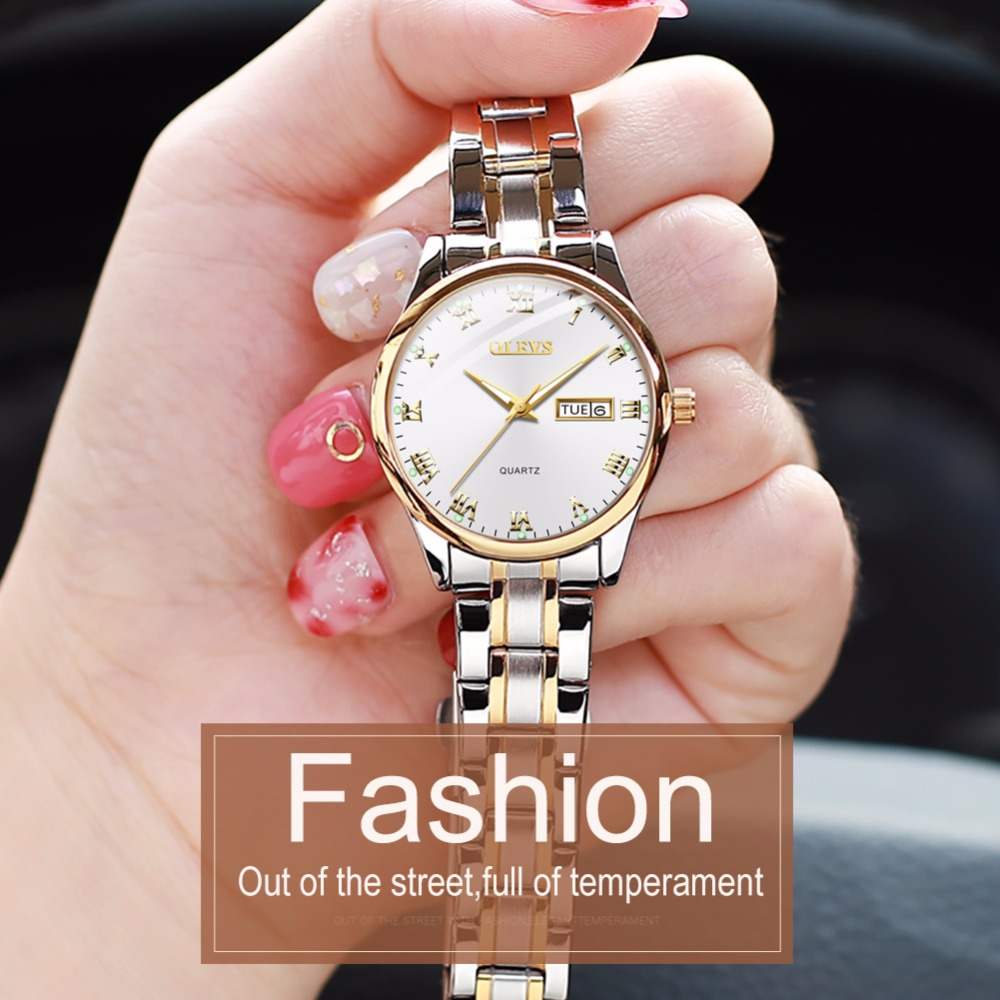 feb880fac873 OLEVS ladies watch women fashion simple woman watches 2018 brand luxury  montre femme uhren damen steel