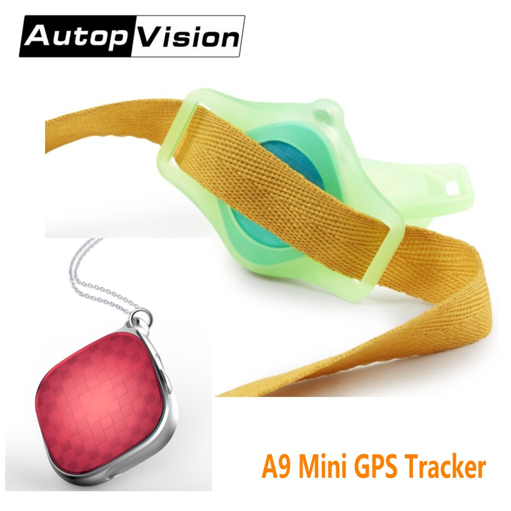 2017 Micro GPS Tracker A9 Mini Portable GPS Tracker Locator For Kids Chidren Pets Cats Dogs Vehicle With Google Maps SOS Alarm