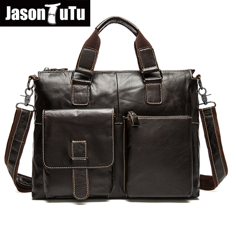 2017 Men messenger bags genuine leather bag men briefcase fashion designer handbags high quality famous brand business bag HN101 10piece 100% new m3054m qfn chipset