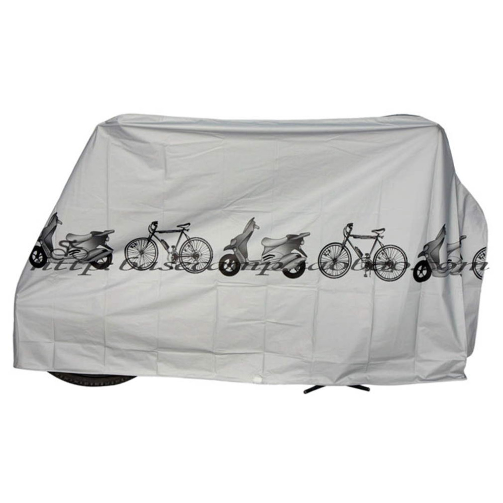 Electric and Cruiser Bikes Bike Cover for 2 Bikes GoFriend 190T Nylon Waterproof Bike Cover Double 2 Bicycle Cycle Scooter Rain and Dust Resistant UV Protection Ideal for Mountain Road