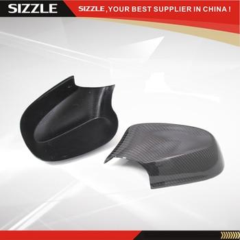 Добавить на углеродного волокна зеркало на дверь заднего вида крышка для BMW 1 серии E82 E87 2010 2011 2012 >> SIZZLE Official Store