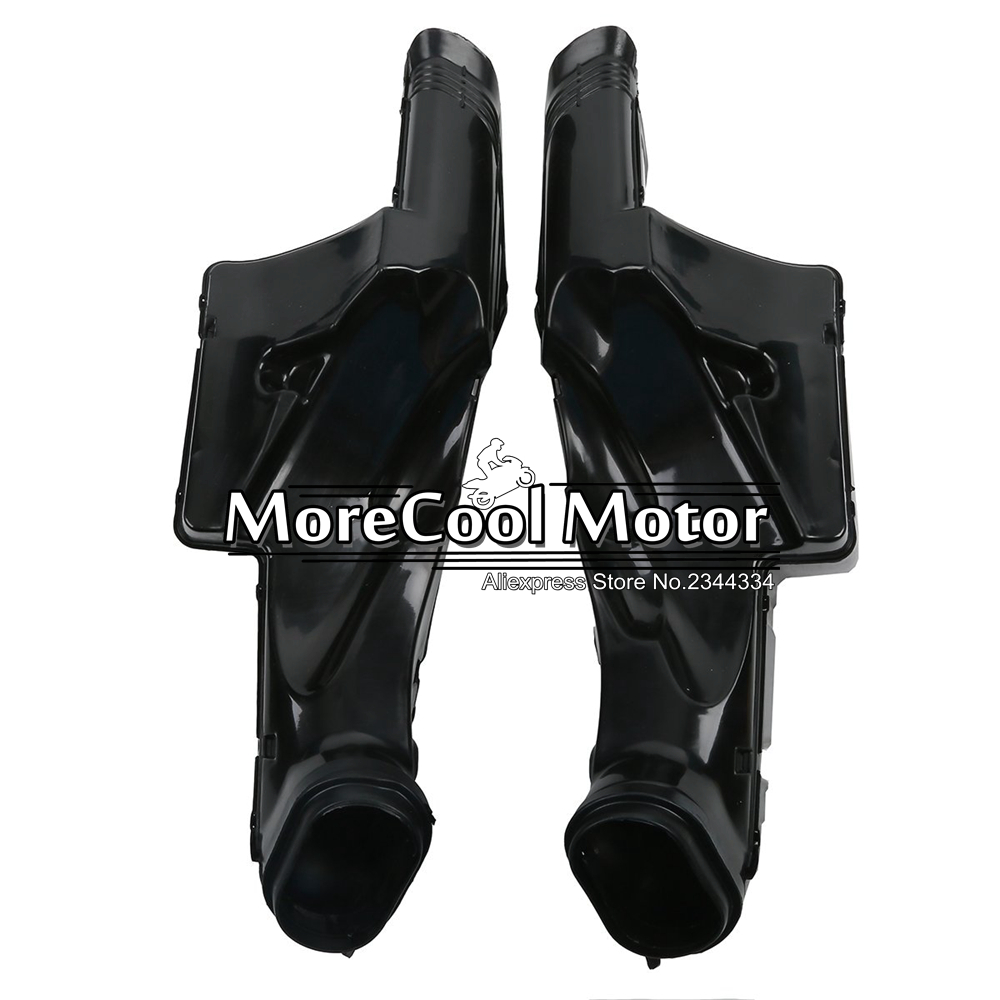 For Suzuki GSXR600 GSXR750 2006 2007 Motorcycle ABS Plastic Ram Air Duct Intake new motorcycle ram air intake tube duct for suzuki gsxr600 gsxr750 2006 2007 k6 abs plastic black