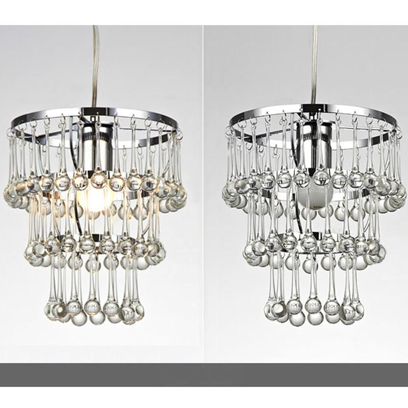 ZX Modern Contracted Water Drop Pendant Lamp Creative Fashion E27 LED Light Fixtures Restaurant Living Room Bedroom Indoor Lamp
