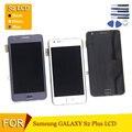 Lcd para samsung galaxy s2 i9100/i9105/i9105p lcd screen display touch com digitador assembléia com frame + ferramentas